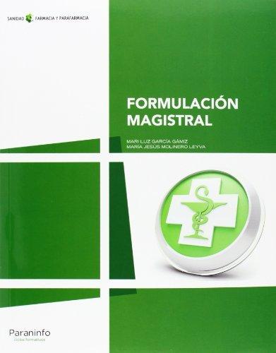 Formulación magistral por Mª JESÚS MOLINERO LEYVA