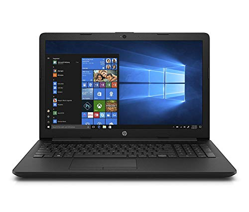 HP Notebook 15-da0084ns - Ordenador Portátil 15.6' HD (Intel Celeron N4000, 4GB RAM, 128GB SSD, Intel Graphics, Windows 10) Color Negro - Teclado QWERTY Español