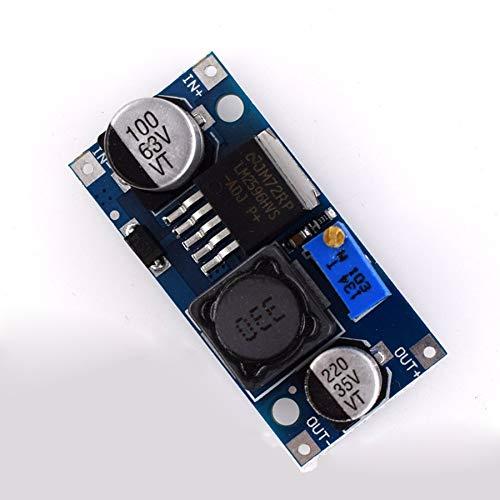 Ruirain-DE HW-677 Q65 48V Adjustable Step-down Module DC-LM2596HVS Input 4.5-50V Voltage Converter Stabilizer Power Supply Buck Module Step-down Voltage Converter