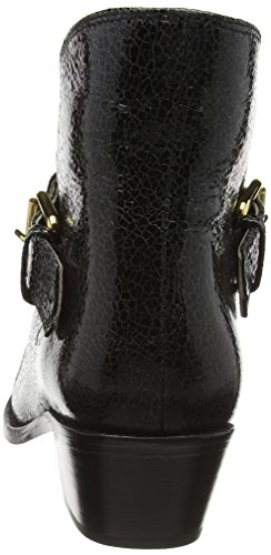 MOSCHINO Sca Nod Texano45 Capracrack Nero, Bottes Classiques femme Noir - Black (Black 000)