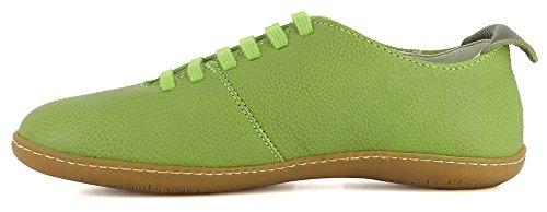Inyectados Y Vulcanizadaos S.A N296 Soft Grain El Viajero, Stringate Derby Scarpe Unisex – Adulto Verde (Green)