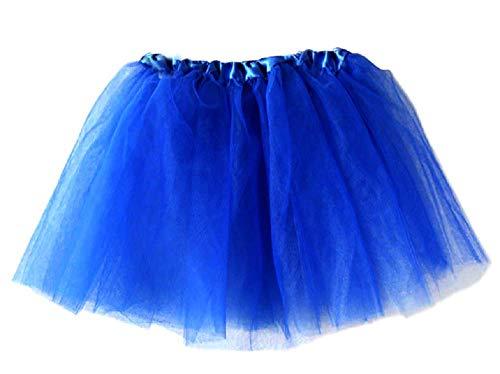 Inception Pro Infinite (Electric Blue) 2-5 Jahre - 3-Schicht-Tüllrock Ballett Klassischer Tanz Farbig Mädchen Cosplay Kostüm Disguise Carnival Show Geschenkidee