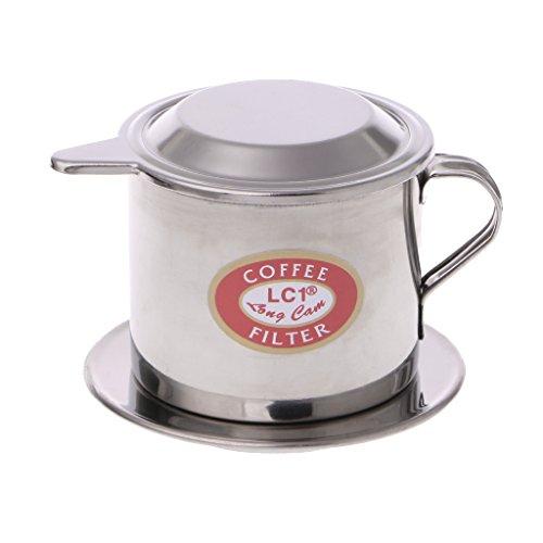 Chuhe - Vietnamesischer Kaffee-Edelstahl-Schalen-Kaffee-Filter-Schalen-Brauer-Werkzeug