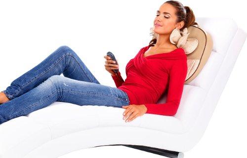 Preisvergleich Produktbild newgen medicals Shiatsu Massagekissen: Massagekissen für Nacken,  Schultern,  Rücken (Shiatsu Massage)
