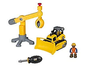 Toy State- Disney Caterpillar Construcción de Vehículo de Obras Pà (80912)