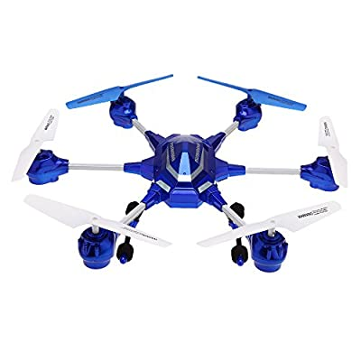 GoolRC HUAJUN Hexacopter Drone W609-9 4.5CH 2.4G with Six Axis Gyro Control Quadcopter RTF RC Super Alloy Hexacopter Drone