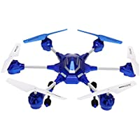 Goolsky HUAJUN W609-9 4.5CH 2.4G with Six Axis Gyro RTF RC Super Alloy Hexacopter Drone(Middle Size)Without Camera
