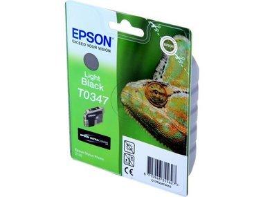Epson Stylus Photo 2200 (T0347 / C 13 T 03474010) - original - Tintenpatrone schwarz hell - 440 Seiten - 17ml (Epson Stylus Photo 2200)
