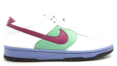Nike [317813-161] Dunk Low Womens Shoes White Logan Berry Tour MALINE (Nike Womens Dunk)