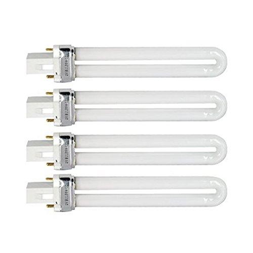 TINKSKY Nagel Kunst Trockner Lampe Lampe Röhre 9W u-förmige 365nm UV Lampe Licht - 4 teiligesset