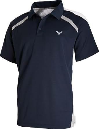 VICTOR Damen Polo-Shirt Function 6102, dunkelblau, 32, 610/3/2