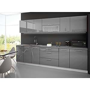 cuisine lynda gris taupe 3m gris cuisine maison. Black Bedroom Furniture Sets. Home Design Ideas