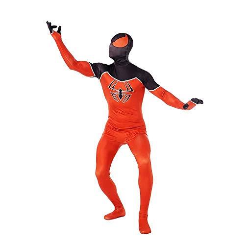 r-Man Kostüm Body Für Jungen Halloween Kleidung Requisiten Karneval Prop,Orange-M ()