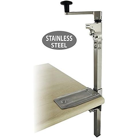 BOJ 01113 - Abrelatas industrial de acero inoxidable