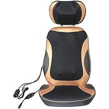 AMYMGLL Silla de masaje multifuncional Silla de masaje en casa masaje extraíble en sentido antihorario (