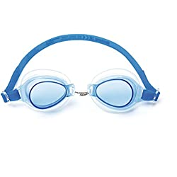 Bestway 21002 - gafas de natación (Junior, Azul, Fucsia, Verde, Unisex, Blister card, China)