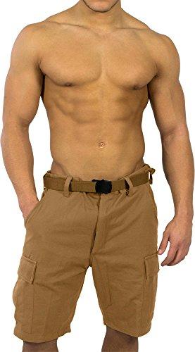 normani BDU Bermuda Short für Herren Farbe Koyote Größe 6XL