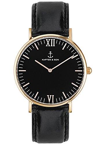 Campina All Black, size:.;producer_color:ROSE GOLD 18mm
