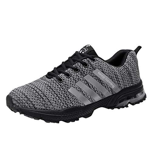 BaZhaHei Sneakers Donna Pallacanestro,Moda Respirabile Piatte Scarpe a Rete Sportivo Donne Leggere Scarpe da Corsa Casual Scarpe da Lavoro Running Fitness Shoes con Sportive All'aperto 35-47
