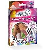 Orbis - Airbrush für Kinder   30300 Flower Tattoo Set