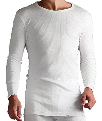 By Neki Herren Oberteil White Long Sleeve Top