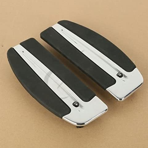 Tengchang L&R Slipstream Floorboard Footboard For Harley Softail Models FLSTC FLSTN FLSTF