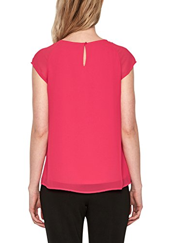 s.Oliver BLACK LABEL Damen T-Shirt illusion pink