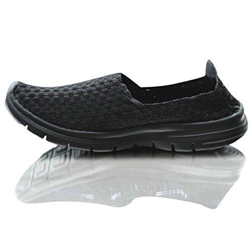 Xelay ,  Damen Sneaker Low-Tops Dark Black
