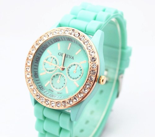 fashion-base-green-new-rose-gold-diamond-quartz-silicone-jelly-watch-for-women-wedding-gift