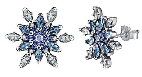 saysure-925-sterling-silver-crystalized-snowflake-stud-earrings