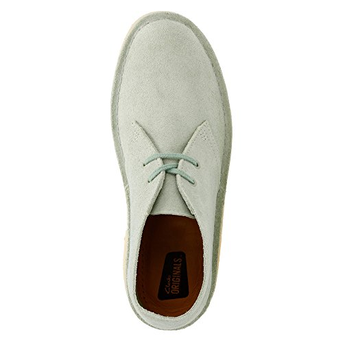 Clarks Desert Boot Lace-up-Boot Pale Green Suede