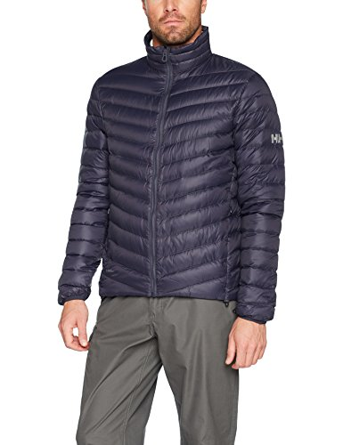 Helly Hansen hombre Verglas Down Insulator Chaqueta de Down, hombre, color Graphite Blue, tamaño Medium
