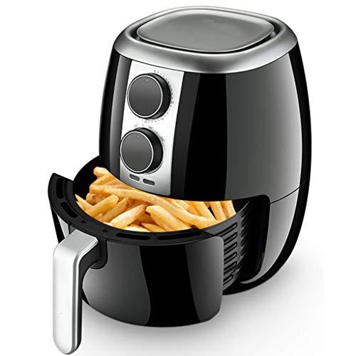 Friggitrice ad aria calda elettrica Macchina 4QT Forno a forno senza olio Multifunzionale, Macchina a basso contenuto di grassi per uso domestico, Rack per barbecue, 4 modalità di alimentazione, 1400W