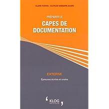 Préparer le CAPES de documentation externe