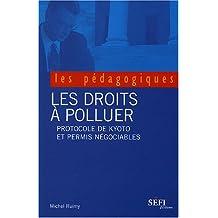 Les droits à polluer. Protocole de Kyoto et permis négociables.