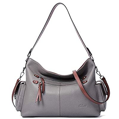 Purses and Handbags for Women Designer Genuine Leather Hobo Tote Large Ladies Shoulder Bag