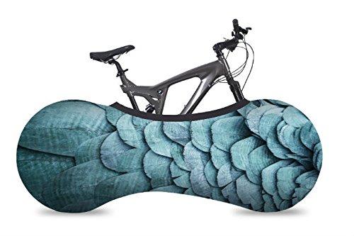 velosock Bicicletta Indoor, Portaoggetti, Piume, soluzione migliore per mantenere i pavimenti e pareti pulizia, compatibile con il 99% di tutti gli adulti biciclette-Spedizione gratuita nel Regno Unito