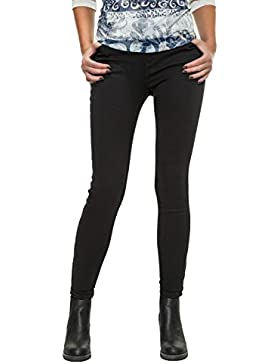 Only Onlkendell Eternal Ankle Black Noos, Jeans Mujer