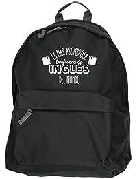 HippoWarehouse La más Asombrosa Profesora de Inglés del Mundo kit mochila Dimensiones: 31 x 42 x 21 cm Capacidad: 18 litros