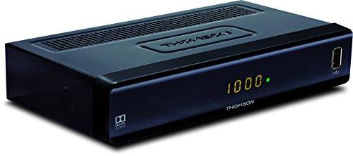 THOMSON THC300 HD Kabelreceiver für digitales Kabelfernsehen DVB-C mit Teletext (USB, HDMI, Kabel-In/Out, SCART, EPG, Radioprogramme, geeignet für Ihr Kabelnetz: Vodafone, Unitymedia) - schwarz