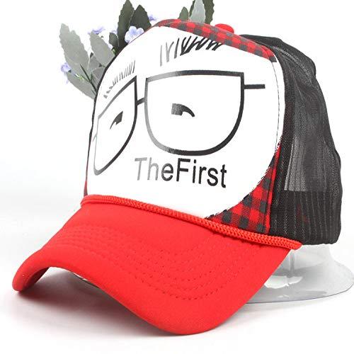zhuzhuwen Pro-Netzwerk-Kappe Männer und Frauen Druck Brillengestell Baseballmütze Sommer Männer und Frauen Baby Visier - Nike Pro Kostüm
