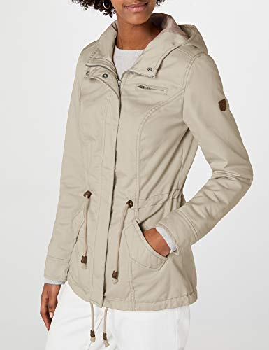 ONLY Damen Parka Onlnew Lorca Frühling/Sommer Jacke, Grau (Feather Gray) - 9