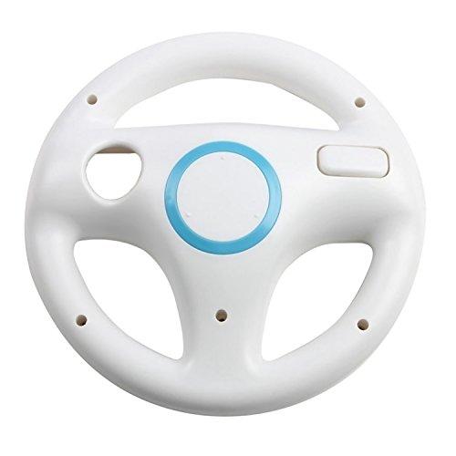 Vococal-Volante para Juegos de carreras en Nintendo Wii,Color Blanco