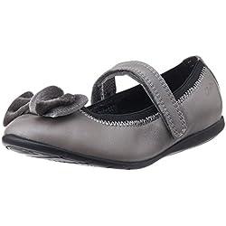 Clarks Girl's Dancevelvetpre Metallic Lea Leather Mary Jane Flats - 9.5 kids UK/India (27.5 EU)