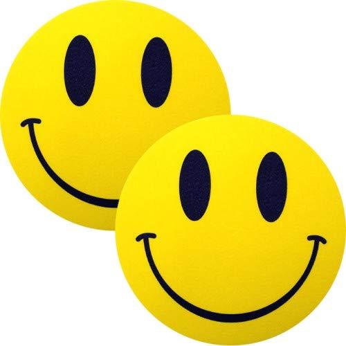 slipmat-Factory Smiley Slipmat, 2 Stück