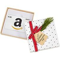 Amazon.de Geschenkgutschein in Geschenkbox (Tannenzweig) - mit kostenloser Lieferung am nächsten Tag