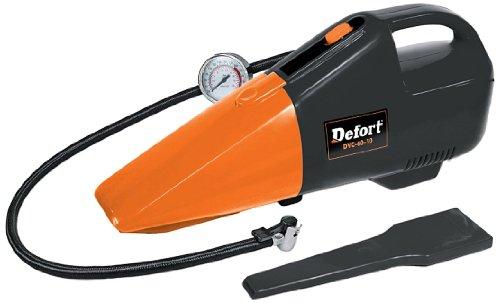 Defort DVC-60-10 2-in-1 60-Watt Car Vacuum Cleaner and Compressor