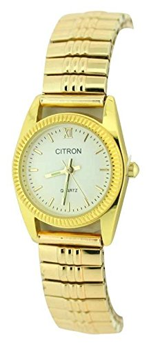 Donna Stile Classico espansione bracciale orologio exp103/A