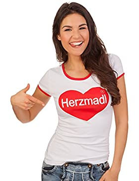 Hangowear Trachten Shirt - Aberdeen - Weiß