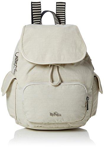 Kipling Damen CITY PACK S Rucksack, Weiß (Dazz Cream C), 27x33.5x19 cm